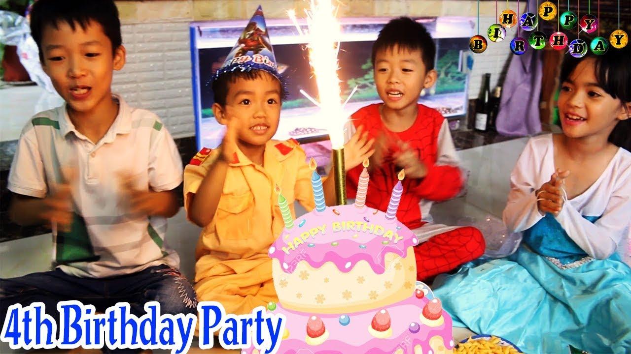 Happy Birthday For Kid 4th Birthday, Birthday Songs | पुलिस को जन्मदिन मुबारक हो | Xuxu TV