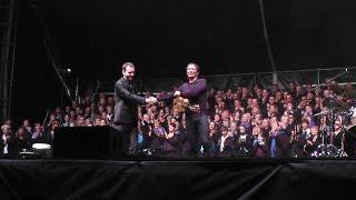 """I MUVRINI et 300 choristes """"hazia"""" à Ohlungen 2014 - vidéo Dany Fischer"""