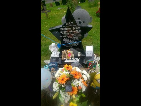Single mother devastated after council remove her son's headstone from graveyard