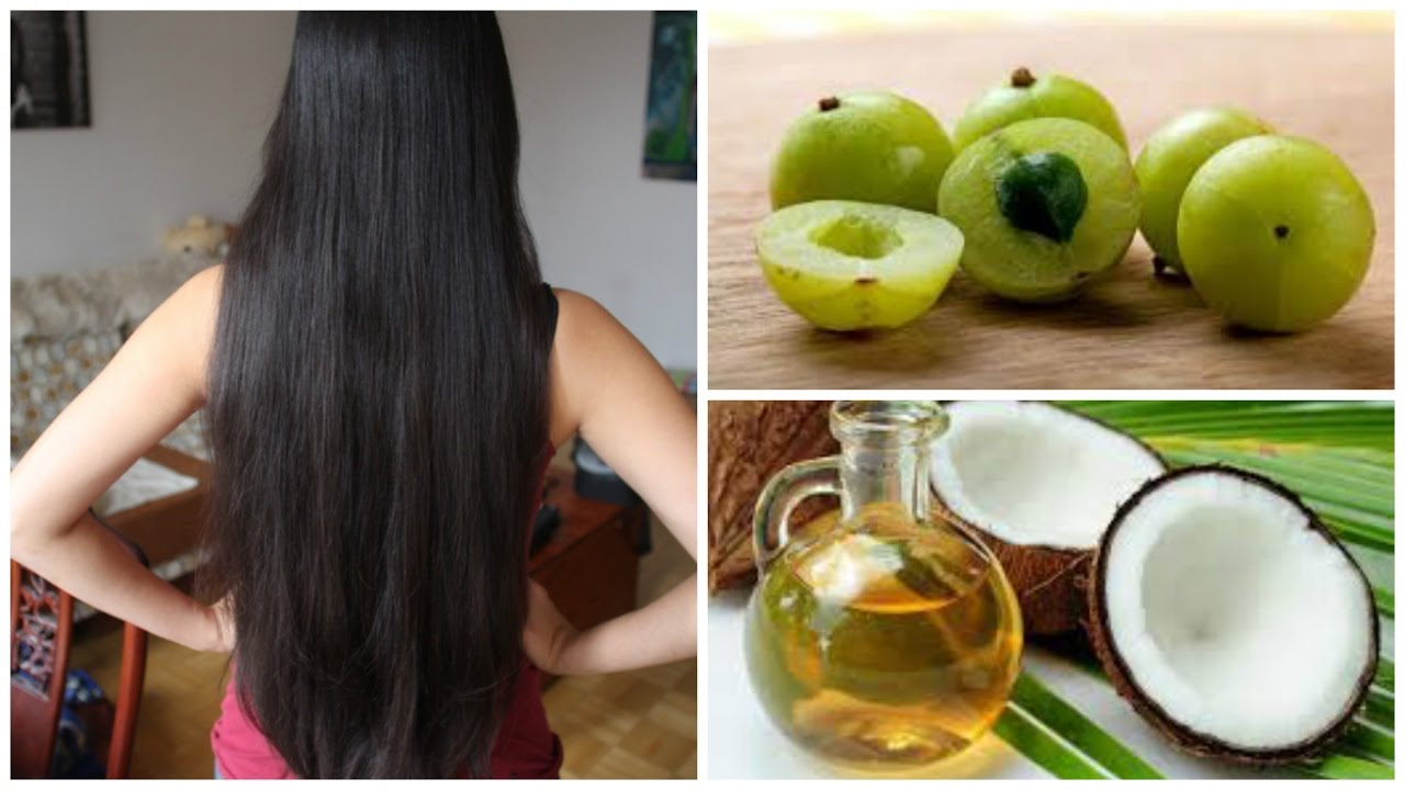 Amla Oil For Hair Growth Black Shiny And Thicker Hair