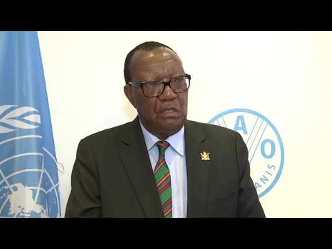 Remarks by Zimbabwe's Minister for Agriculture, Mechanization and Irrigation Development