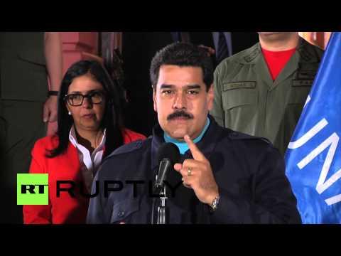 Venezuela: 'US sanctions are another false step' Maduro warns