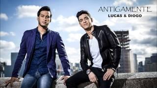 Gambar cover ANTIGAMENTE - LUCAS E DIOGO (CD NOVO)