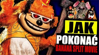 "JAK POKONAĆ ANIMATRONIKI Z FILMU ""BANANA SPLIT MOVIE""?"