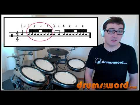 18 How To Read DRUM Music Part 2 of 3 - Drum Notation