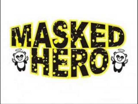 masked hero walau hati ini menangis