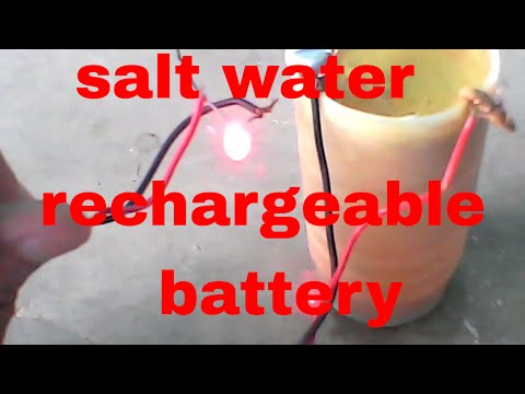 How To Make A Rechargeable Battery