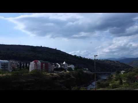 Podgorica time lapse