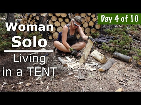 Finish My Painting on Deck  & Start Bushcraft Table 4/10 days - Our Journey :: Episode #69
