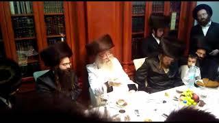Nikelsberg Rebbe @ Melave Malka In Israel