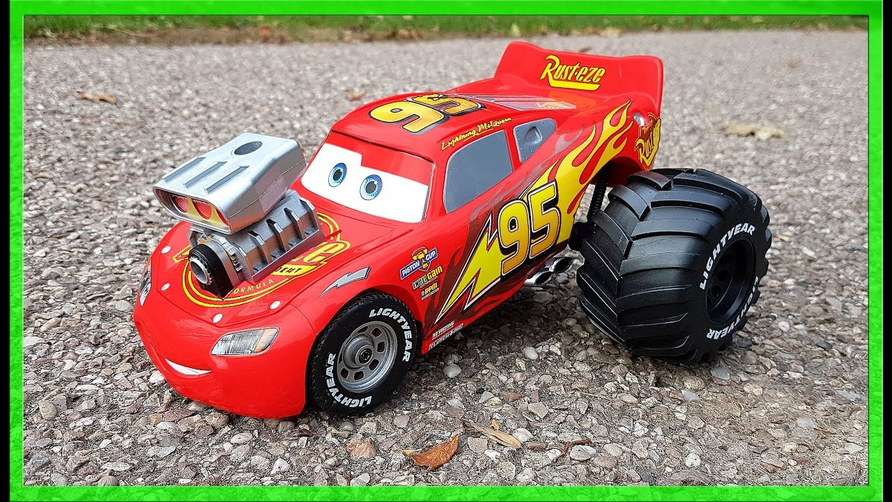 Monster Truck race cars build your own Lightning Mcqueen ...