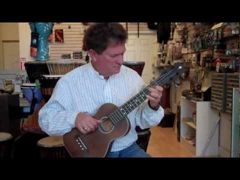 The Bass Ukulele Adds A Whole New Dimension!