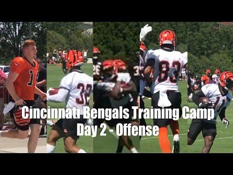 Cincinnati Bengals Training Camp - Day 2 - Offense