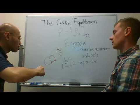 Chris Salahub defines ergodicity for Markov chains - The Central Equilibrium - Episode 2 Highlight