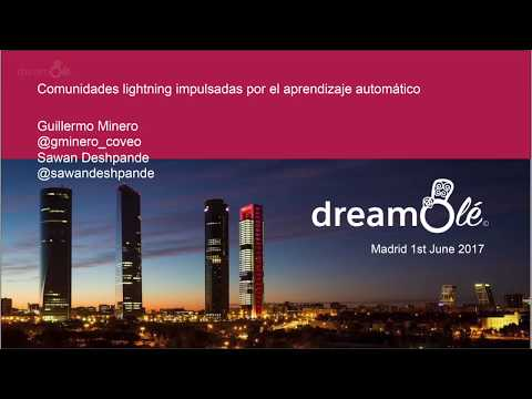 dreamOlé '17 - Free AI-Powered search for Lightning Communities - Guillaume Minero & Sawan Desphande