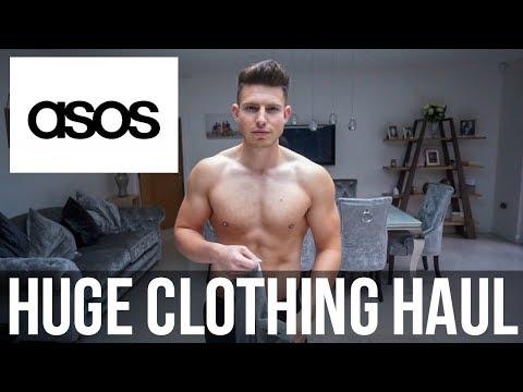 HUGE ASOS MENS CLOTHING HAUL & TRY ON | SUMMER 2018 (£300+)