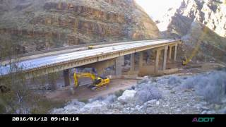 I-15 Bridge #6 Time lapse (rehabilitating the southbound lanes) thumbnail