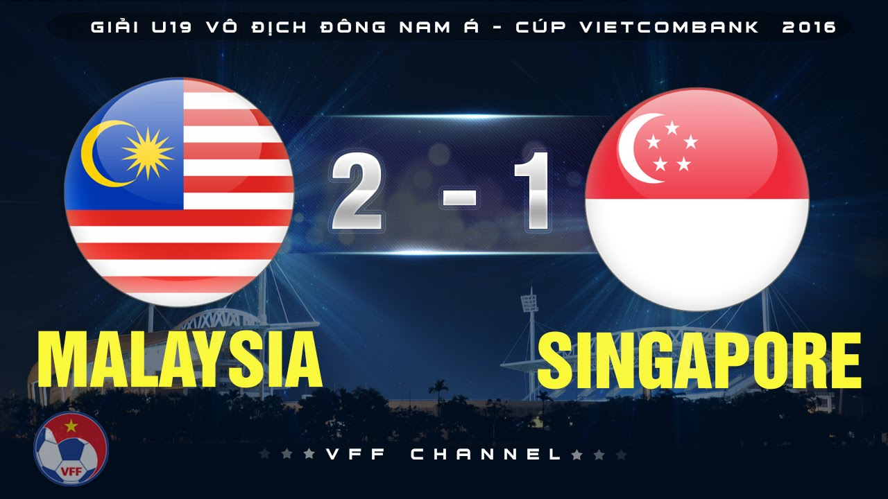 Video: U19 Malaysia vs U19 Singapore