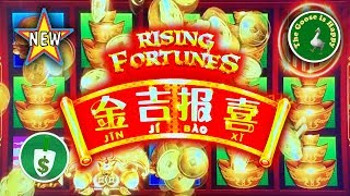 ⭐️ New 😄 Rising Fortunes Jin Ji Bao Xi slot machine, 3 Sessions, Happy Goose