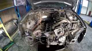 Снятие ГБЦ AUDI A4 двигатель ALT(, 2014-11-06T23:06:54.000Z)