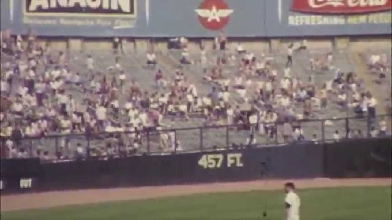 Yankee Stadium Bat Day -- August 14, 1965 - YouTube   1280 x 720 jpeg 53kB