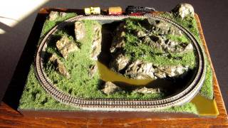 Rokuhan Spur Z Modelleisenbahnanlage A4 | Rokuhan Z Scale Model Train Layout