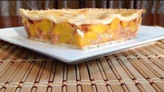 Baking-How To Make Peach Pie-Peach Pie Recipe-American Comfort Food