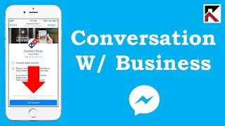 How To I Start A Conversation With A Business Facebook Messenger