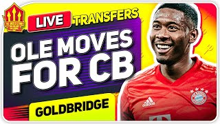 ALABA & MEDINA Transfer Talks! Man Utd Transfer News