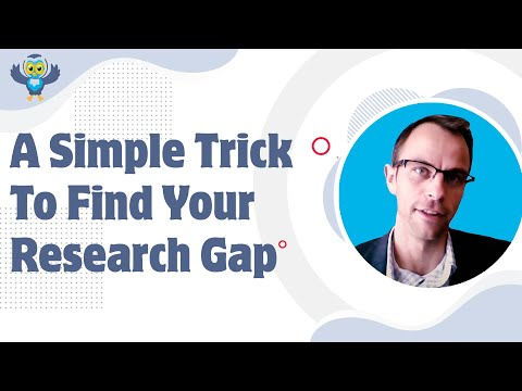 A Simple Trick To Find Your Research Gap Or Niche In Writing Papers - Literature Review & PhD Thesis