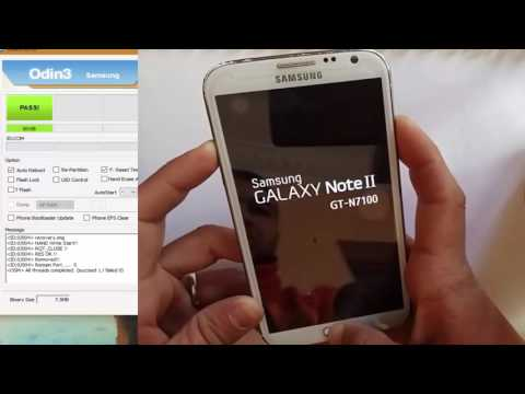ROOT Samsung Note 2 Android 4.4.2