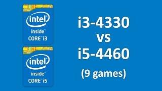i3 4330 vs i5 4460 in Far Cry 4