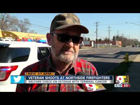 Veteran shoots at Northside firefighters
