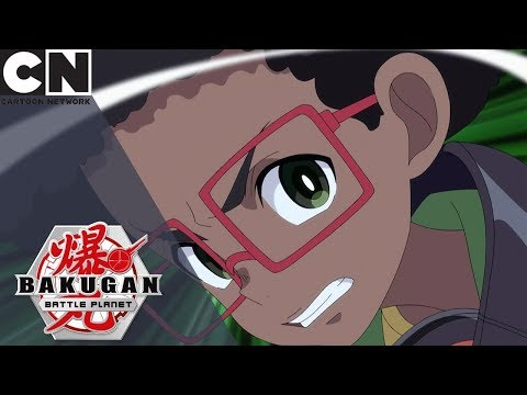 Bakugan: Battle Planet | Lupitheon Gets Free | Cartoon Network UK