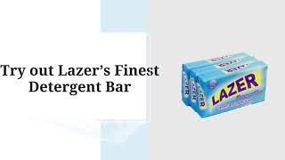 Lazer Detergent Bar