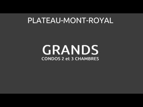 DIBER -Grands condos neufs sur le Plateau-Mont-Royal