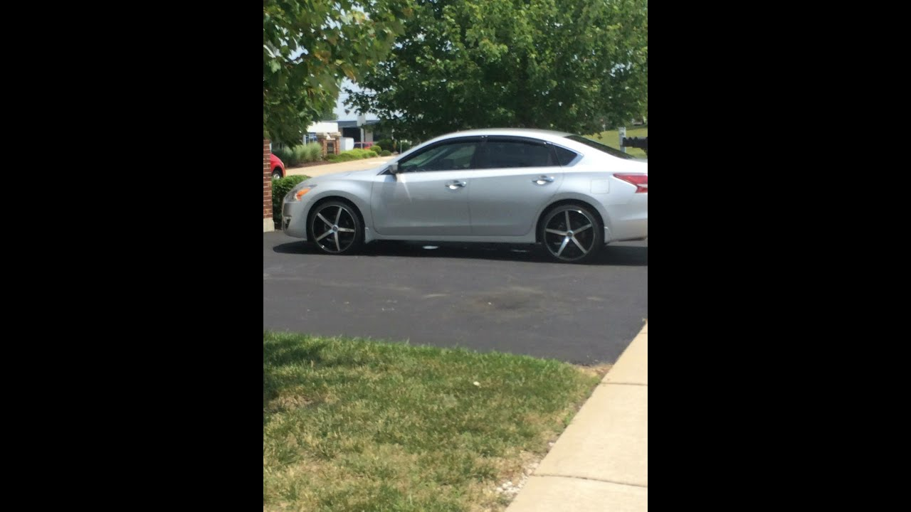 2013 Nissan Altima On Dub Rio 5 20 Inch Rims Continental