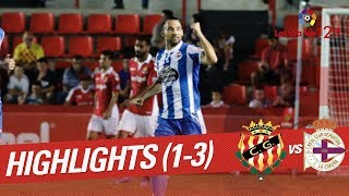 Resumen de Nàstic vs RC Deportivo (1-3)