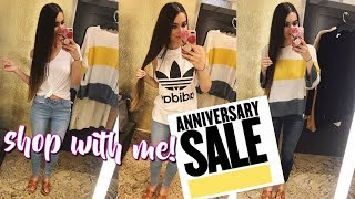 SHOP WITH ME - NORDSTROM ANNIVERSARY SALE TRY ON 2018 | FRUGAL FASHION FINDS!!