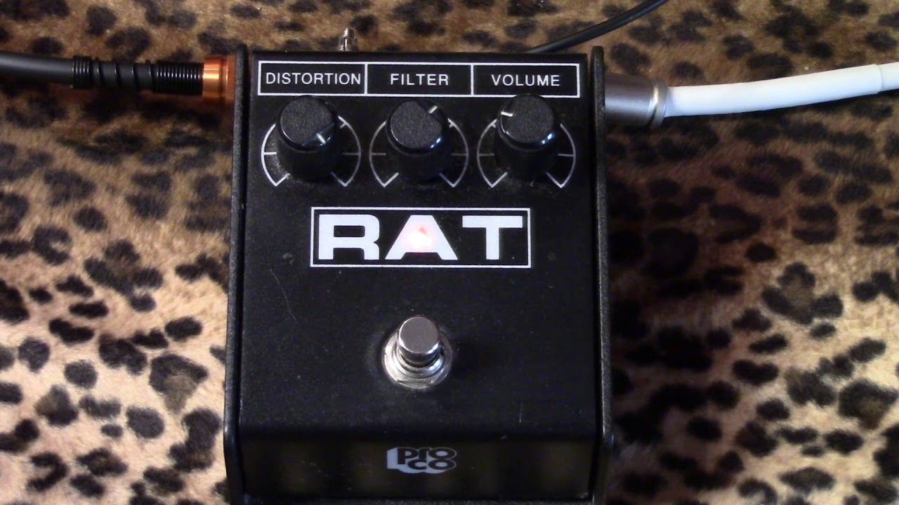 guytronix modified proco rat distortion pedal demo with humbuckers youtube. Black Bedroom Furniture Sets. Home Design Ideas