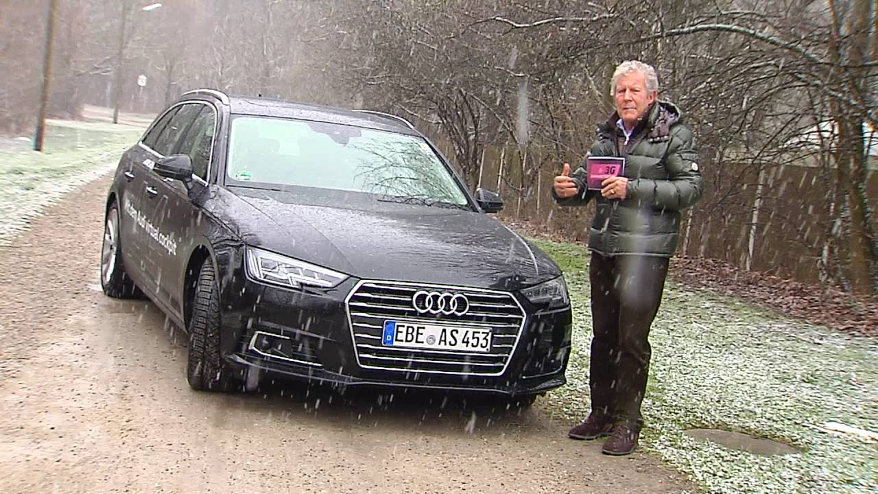 Test Audi A4 Avant Design 20 Tdi Youtube