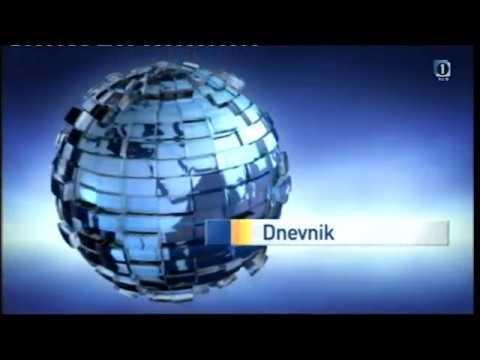 Clock and Dnevnik intro on TV SLO 1 (2012)