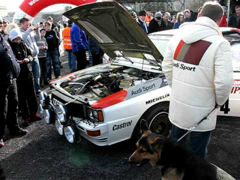 audi quattro engine sound in rally fest conwy north wales. Black Bedroom Furniture Sets. Home Design Ideas