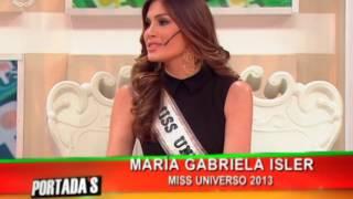 Miss Universo 2013, Gabriela Isler en Portada