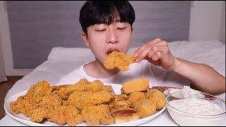 뿌링클......!!! 뿌링클치킨 뿌링클치즈볼 뿌링소떡 뿌링치즈스틱 먹방 • Bburinkle Chicken Mukbang ASMR