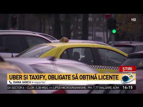 Se modifică legea taximetriei: Uber și Taxify, obligate să obțină licențe