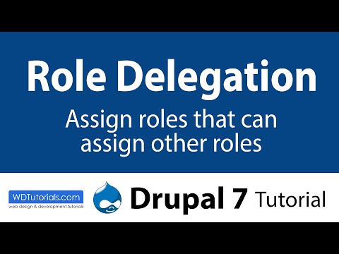 Drupal 7 - How To Assign Roles That Can Assign Other Roles