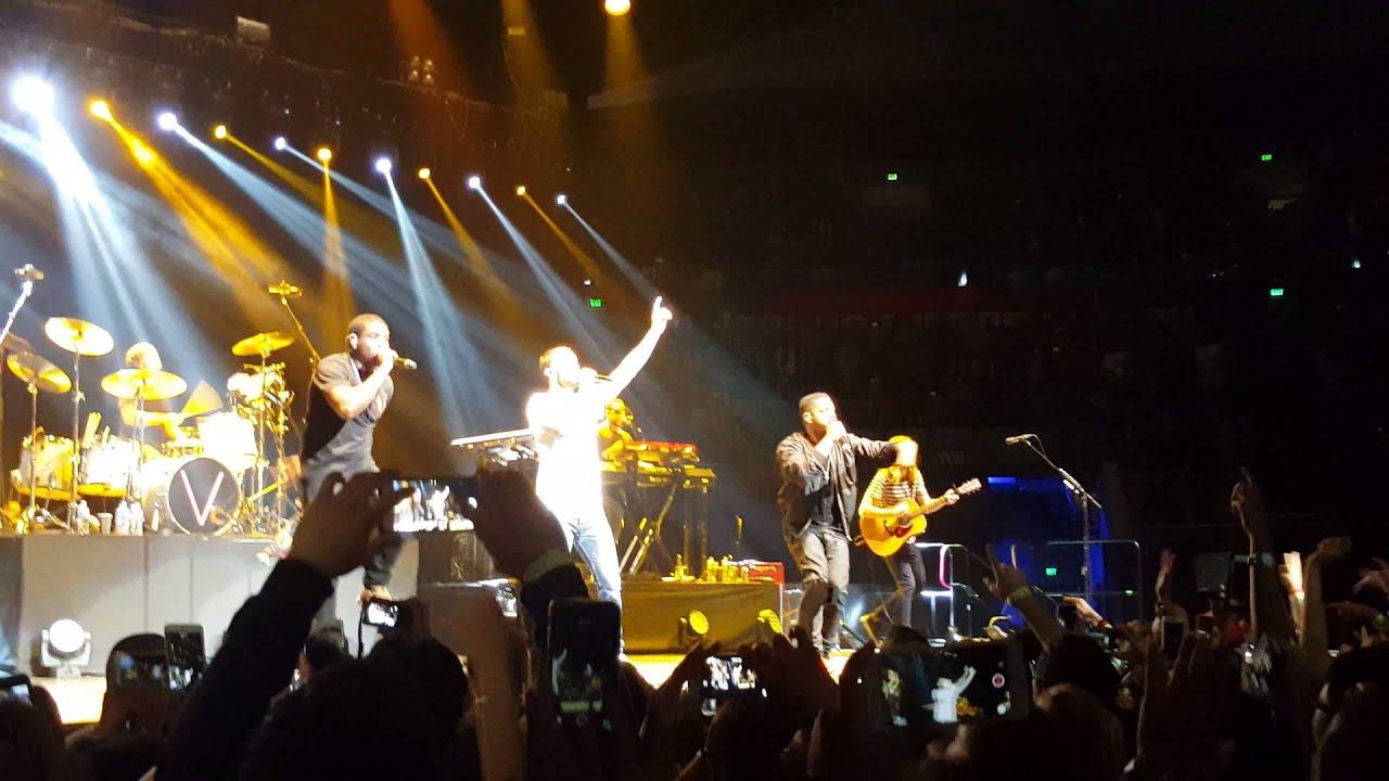 Locked Away (live) - Maroon 5 with Rock City - YouTube