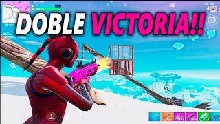 DOBLE VICTORIA!! FORTNITE MOBILE IOS/ANDROID