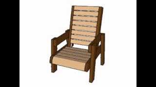 http://myoutdoorplans.com/furniture/deck-chair-plans/ SUBSCRIBE for a new DIY video almost every day! Choose the right deck ...